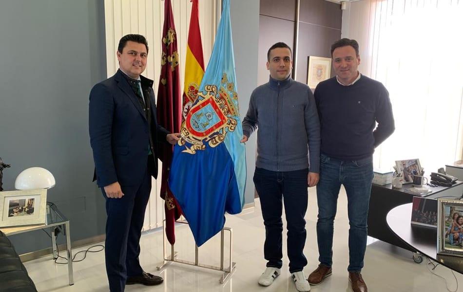 Juan David Zapata inaugura el Libro de Honor del Deporte de San Javier