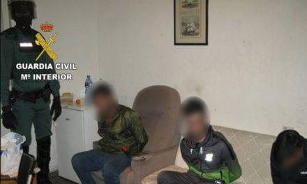 La Guardia Civil desmantela un grupo criminal que traficaba con drogas en la zona del Mar Menor