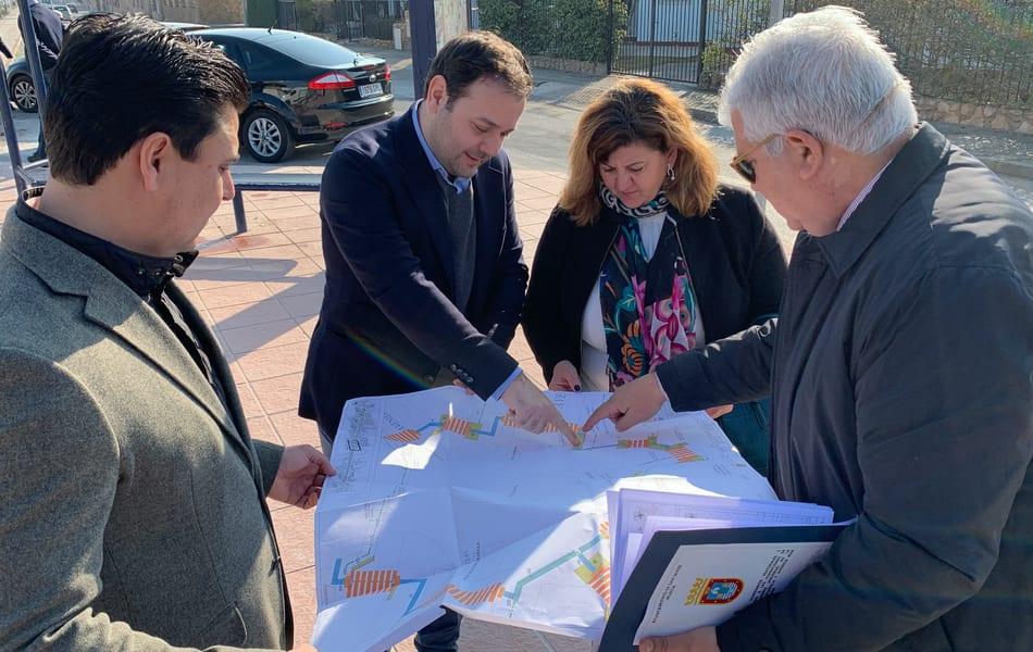 Las obras de accesibilidad que unen San Javier con Santiago de la Ribera consiguen nuevas ayudas