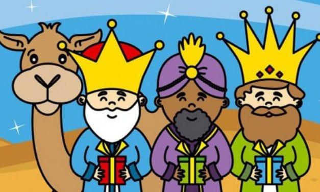 Cabalgata de SSMM los Reyes Magos de Oriente 2020 en Santiago de la Ribera