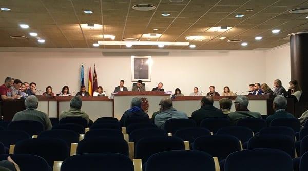 El Pleno del Ayuntamiento de San Javier aprueba una moción contra el cierre encubierto del trasvase Tajo-Segura