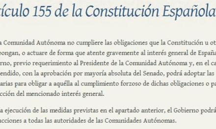 """Un abogado de Murcia pide el 155 para el Gobierno regional por la """"dejación de funciones"""" en la protección del Mar Menor"""