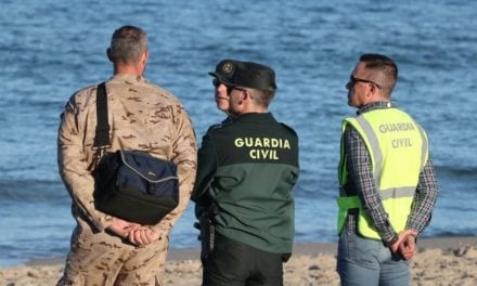 El Ejército del Aire continúa las labores de búsqueda del piloto fallecido en el accidente aéreo en La Manga