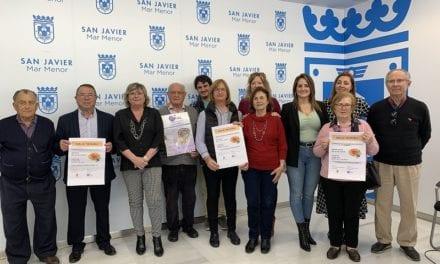 """El programa """"Mayores en positivo"""" en los centros de mayores de San Javier"""