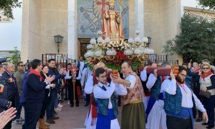 La Romería de San Blas 2020 atrae a miles de personas a Santiago de la Ribera
