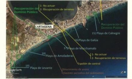 A la Manga se la come el mar y Ribera planea expropiaciones para regenerar