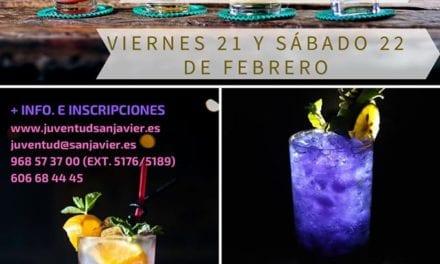 Taller de coctelería divertida en San Javier
