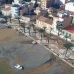 La DANA daña la mitad de la red viaria y las obras públicas  de Los Alcázares