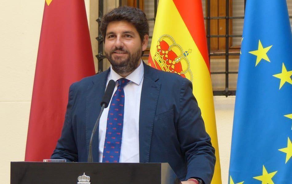 Fernando López Miras quiere que el Ejército controle las fronteras de los pueblos de la Región de Murcia