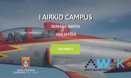 I AirKid Campus 6, 7 y 8 de abril 2020 en  San Javier