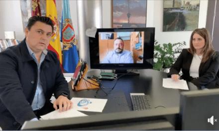 José Miguel Luengo Gallego, alcalde de San Javier Informe COVID-19 31 de marzo 2020