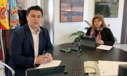 José Miguel Luengo Gallego, alcalde de San Javier, Informe COVID-19 San Javier 29 de marzo 2020