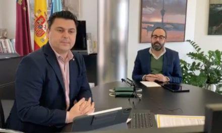 José Miguel Luengo Gallego, alcalde de San Javier, Informe COVID-19 San Javier 30 de marzo 2020