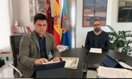 José Miguel Luengo, alcalde de San Javier toma medidas extremas ante la situación sanitaria 26 de marzo 2020