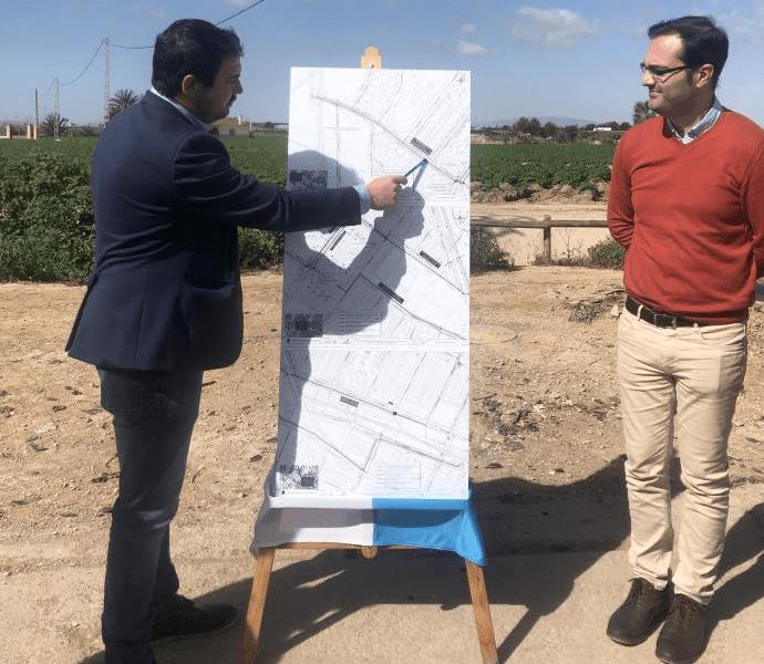 La red de colectores de pluviales de Los Alcázares recogerá cuatro veces más agua