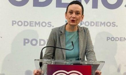 """María Marín (Podemos): """"La nueva ley del Mar Menor está hecha a medida de la agroindustria y no recoge medidas reales"""""""