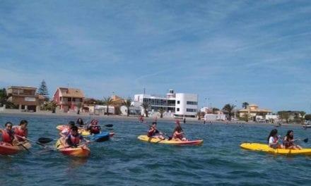 El Mar Menor sigue siendo el mejor destino para deportes náuticos según Hostetur