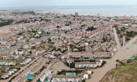 Alcalde de San Javier, José Miguel Luengo valora el estado actual del Mar Menor