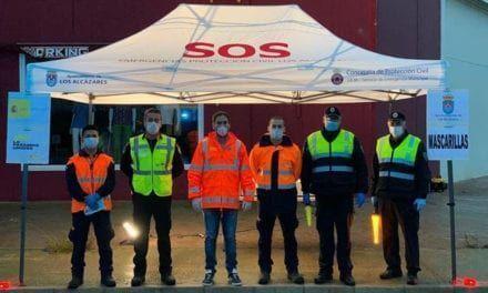 El Ayuntamiento de Los Alcázares comienza el reparto masivo de mascarillas para trabajadores de los sectores agrícola e industrial