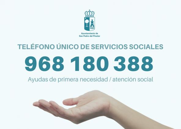 El Ayuntamiento de San Pedro del Pinatar refuerza y amplía los servicios de atención social durante COVID-19