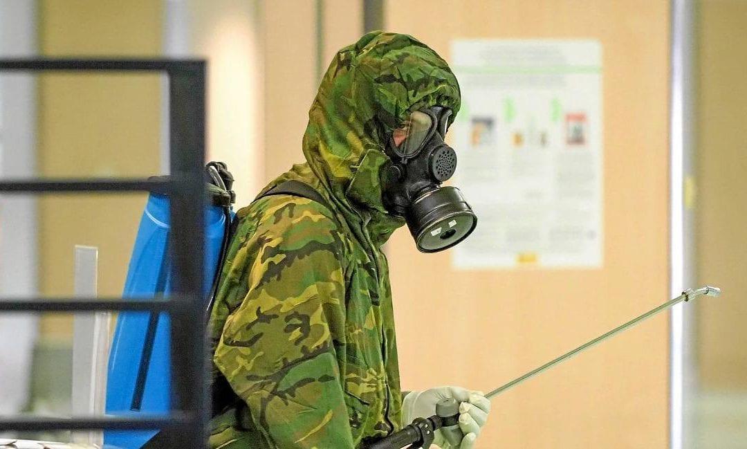 El Ejército va a empezar a desinfectar residencias de la Región sin casos de Covid-19