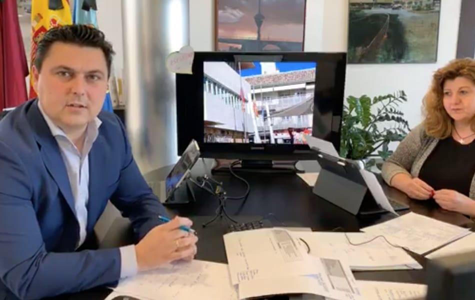 José Miguel Luengo, alcalde de San Javier El Informe COVID-19 3 de marzo 2020