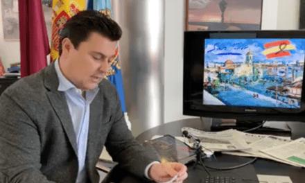 José Miguel Luengo, alcalde de San Javier informe COVID-19 09 de abril 2020