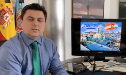 José Miguel Luengo, alcalde de San Javier informe COVID-19 15 de abril 2020