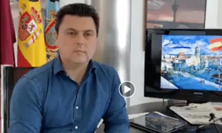 José Miguel Luengo, alcalde de San Javier informe COVID-19 20 de abril 2020