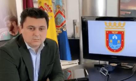José Miguel Luengo, alcalde de San Javier informe COVID-19 24 de abril 2020