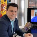 José Miguel Luengo, alcalde de San Javier informe COVID-19 7 de abril 2020