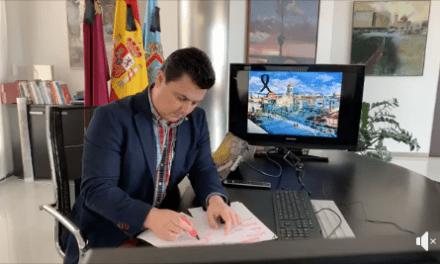 José Miguel Luengo, alcalde de San Javier informe COVID-19 06 de abril 2020