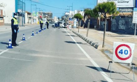 Policía Local de San Javier aumenta el control de vehículos en las entradas al municipio