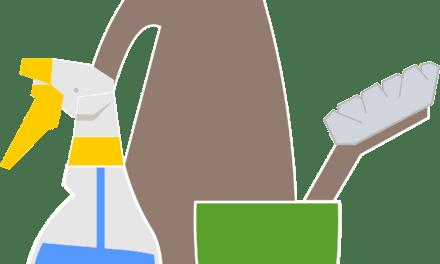 La lejía siempre debe mezclarse con agua fría para desinfectar
