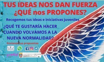 Manda tus ideas e iniciativas juveniles para la nueva normalidad en San Javier