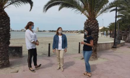 El órgano gestor de playas de San Pedro del Pinatar define un plan de contingencia para la apertura de las playas del municipio
