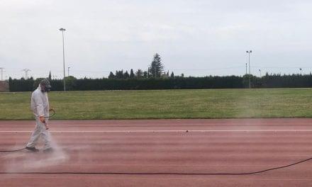 El polideportivo municipal de San Javier abre al público sus instalaciones deportivas al aire libre
