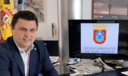 José Miguel Luengo, alcalde de San Javier informe COVID-19 4 de mayo 2020