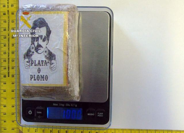 La Guardia Civil investiga a un joven por tráfico de droga, en La Manga del Mar Menor