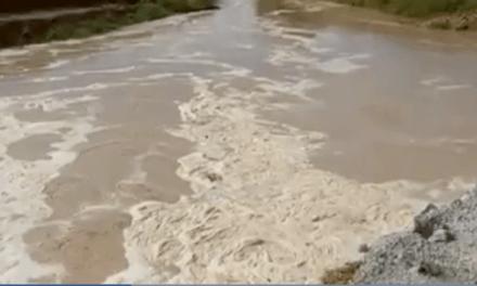 Los Alcázares y el Mar Menor vuelven a inundarse por la rambla de la Maraña