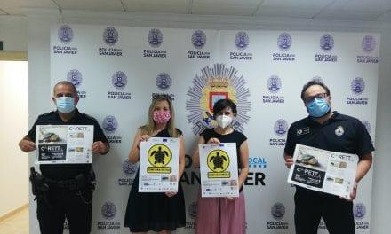 """Ayuntamiento de San Javier se suma a la campaña """"Territorio Tortuga"""" para la preservación de la tortuga boba"""