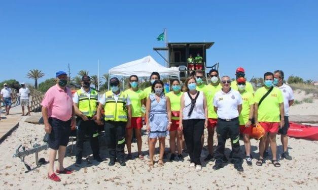 Comienza el servicio de vigilancia en las Playas del Mar Menor con nuevas normas de seguridad y prevención en San Pedro del Pinatar