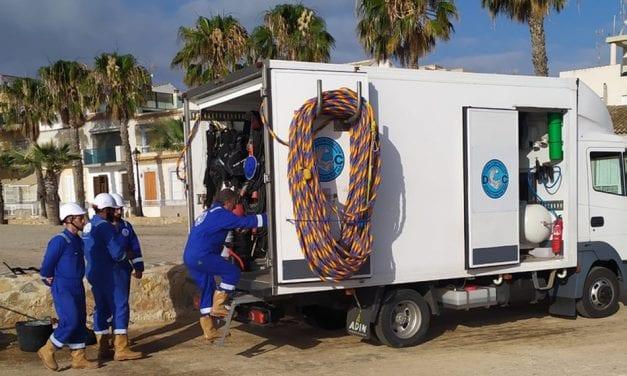 El ayuntamiento de Los Alcázares realizará prospecciones submarinas para conocer el estado de los fondos de la playa