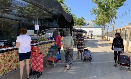 Los mercadillos semanales de San Javier vuelven a su ubicación habitual
