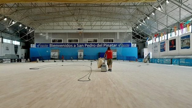 Mejoras en las instalaciones del polideportivo municipal y el campo de fútbol José Antonio Pérez