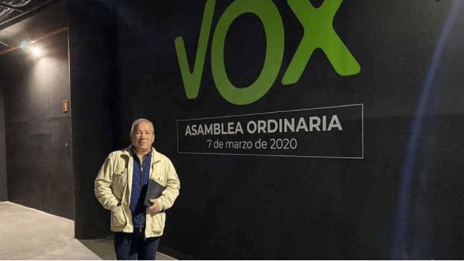 Rafael Vilches Portavoz de VOX ayuntamiento de San Javier