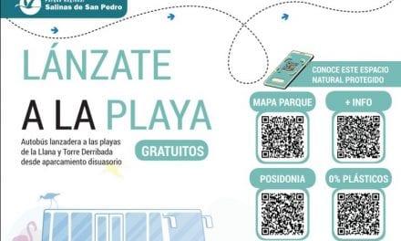 Un servicio de autobús lanzadera gratuito a playas de La Llana y Torre Derribada