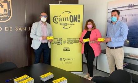El Ayuntamiento de San Javier firma un convenio con la Cámara de Comercio para prolongar en San Javier la campaña C'amON