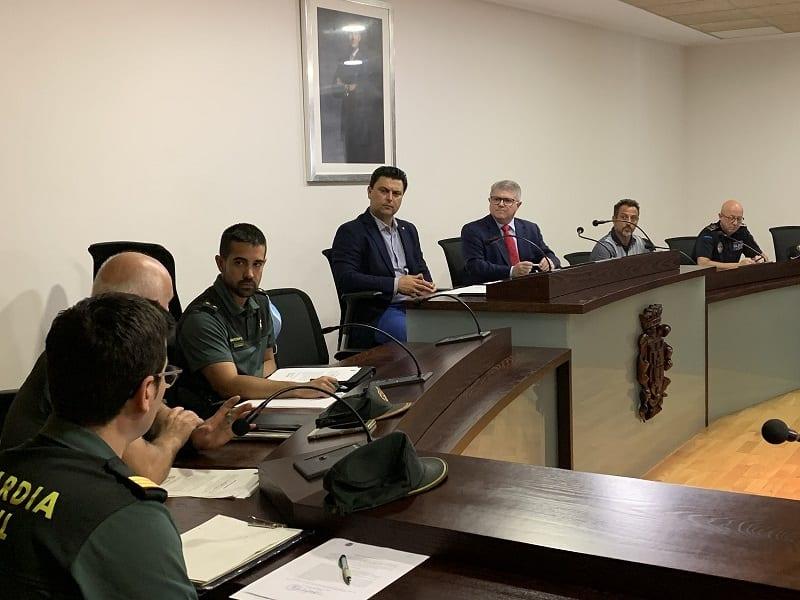 El dispositivo de seguridad de la campaña de verano 2020 se refuerza para intensificar la vigilancia de playas en San Javier