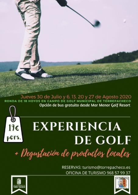 Experiencia de Golf Torre Pacheco 2020